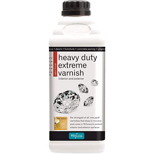 Polyvine Heavy Duty Extreme Varnish 1L