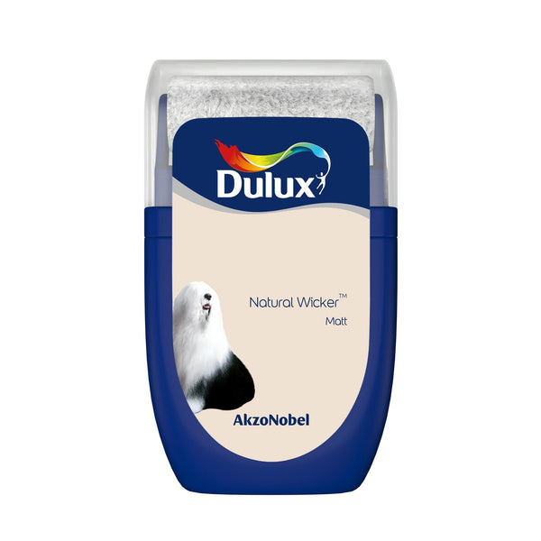 Dulux Roller Tester Natural Wicker 30ml