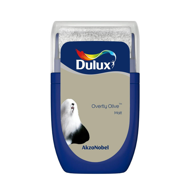 Dulux Roller Tester Overtly Olive 30ml