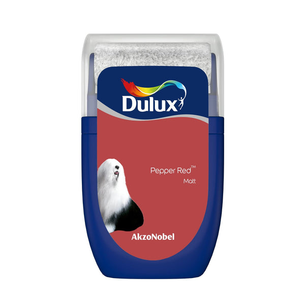 Dulux Roller Tester Pepper Red 30ml