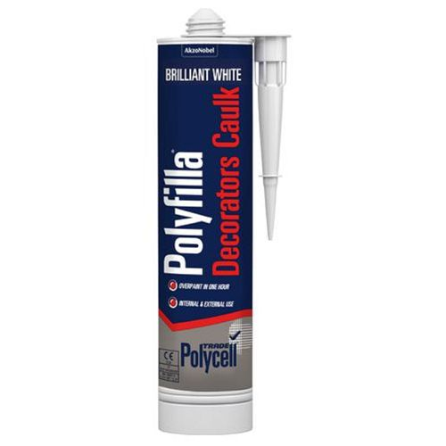 Polyfilla Decorators Caulk Brilliant White 290ml