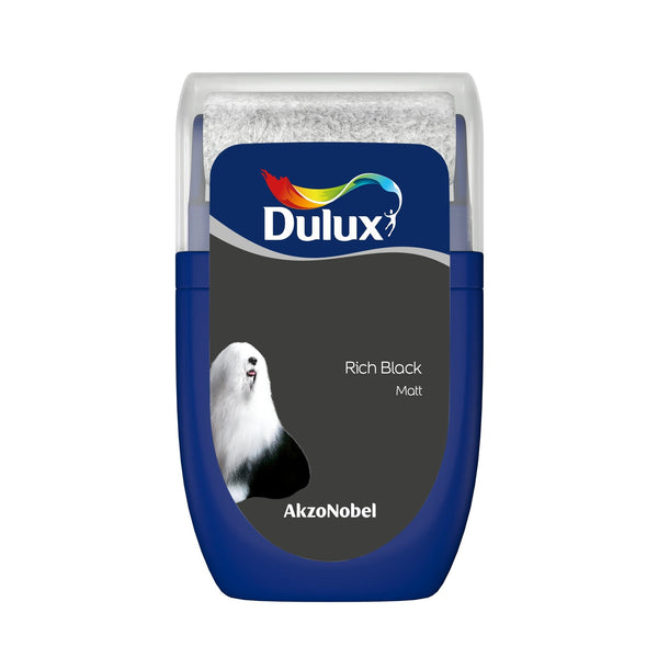 Dulux Roller Tester Rich Black 30ml