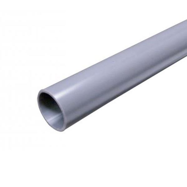 Solvent Weld Pipe 3m Grey