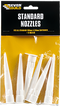 Standard white nozzles Pack of 6