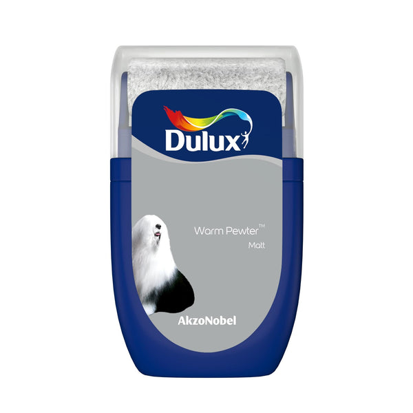 Dulux Roller Tester Warm Pewter 30ml