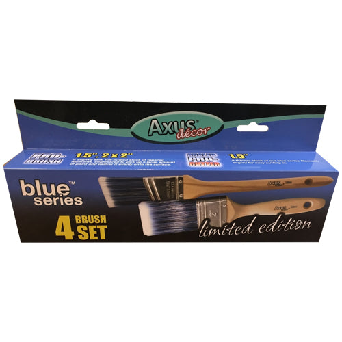 Axus Blue Series Limited Edition 4 Brush Set
