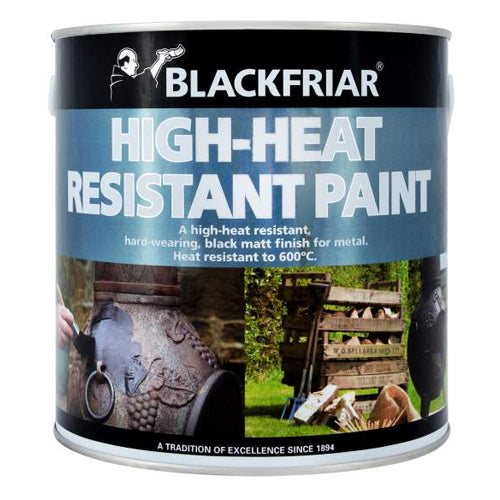 Blackfriar High-Heat Resistant Paint Black 500ml