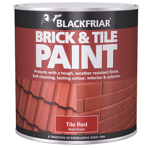 Blackfriar Brick & Tile Matt Red 1L