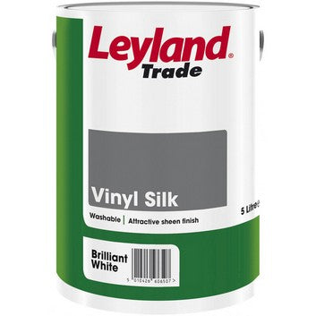 Leyland Vinyl Silk Brilliant White