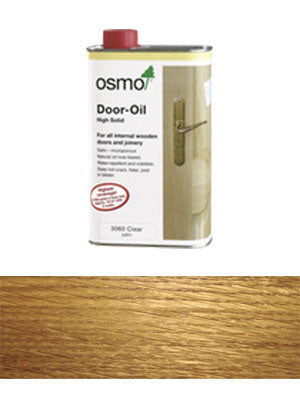 Door Oil Clear Satin 1L