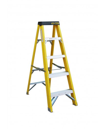 Drabest Fibreglass Swingback Ladder