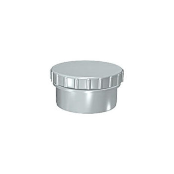 Solvent Soil Access Cap 110mm Grey