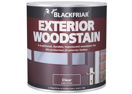 Blackfriar Quick Drying Exterior Woodstain Mahogany