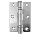 Steel Ball Bearing Hinge Polished Chrome