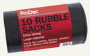 Prodec Heavy Duty Rubber Sacks 10 pc