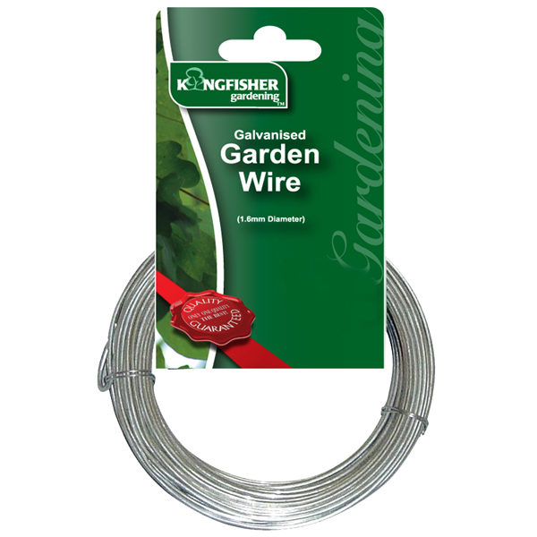 Galvanised Garden Wire 15m