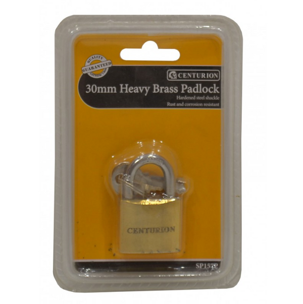 Heavy Brass Padlock 30mm