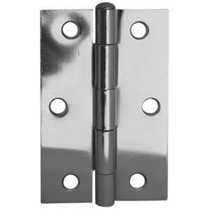 Loose Pin Hinge 89x58 Satin Chrome