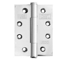 Concealed Bearing Hinge Polished Stainless Steel 102x76