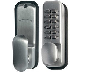 Digital Door Lock Silver