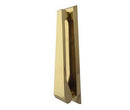 Contemporary Door Knocker Polished Brass