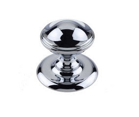 Centre Door Knob 64mm Polished Chrome