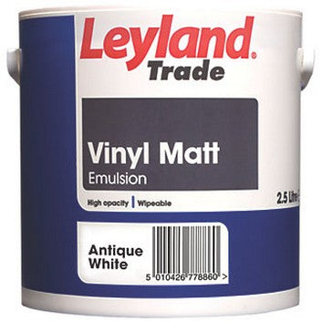 Leyland Vinyl Matt Antique White 5L