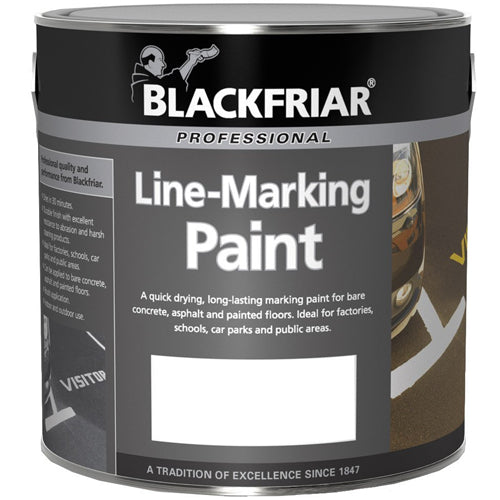 Blackfriar Professional Line-Marking White 2.5L