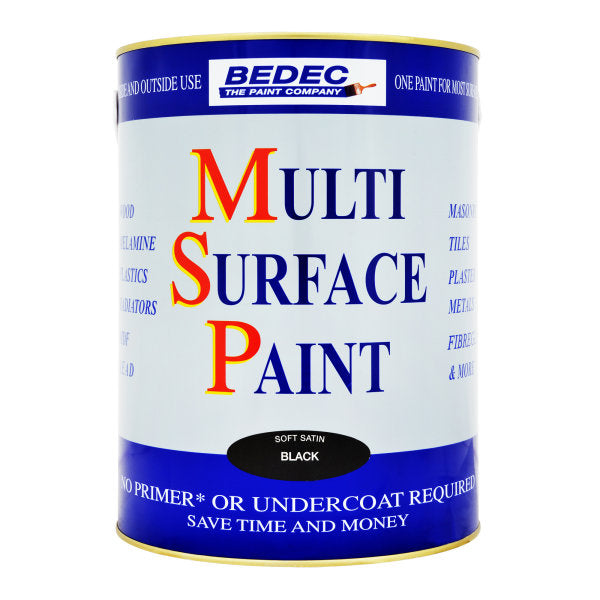Bedec Multi Surface Paint Black