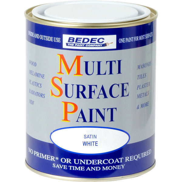 Bedec Multi Surface Paint White