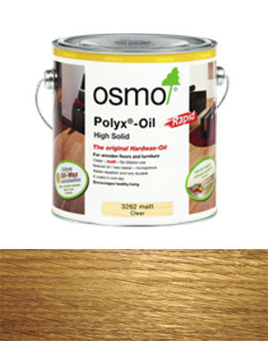 Osmo Oil Rapid Clear Satin 2.5L