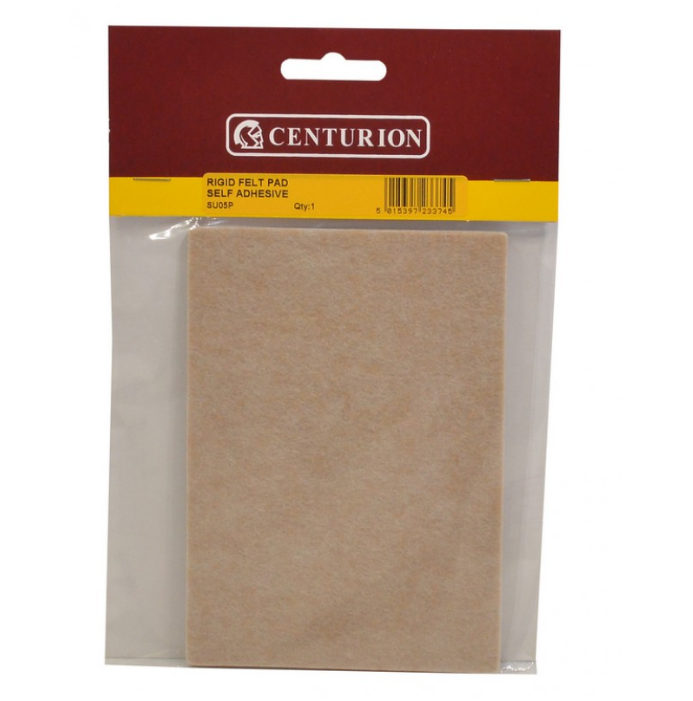 Self Adhesive Rigid Felt Guard 150x110mm