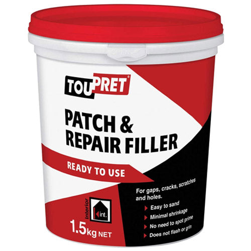 Toupret Patch & Repair Filler Ready To Use 1.5kg