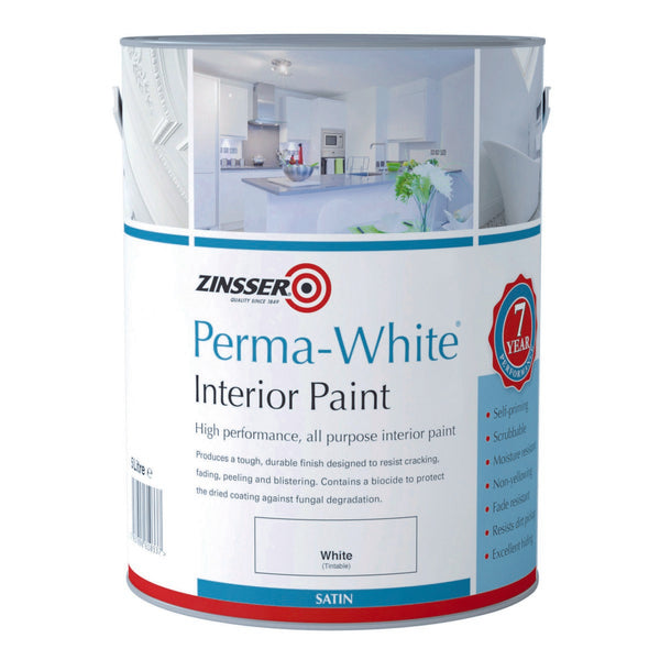 Perma White Interial Satin
