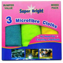 Microfiber Cloths Pack of 3
