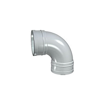 Solvent Soil 92 Double Socket Bend 100mm Grey
