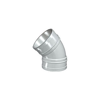Solvent Soil 135° Double Socket Bend 10mm Grey