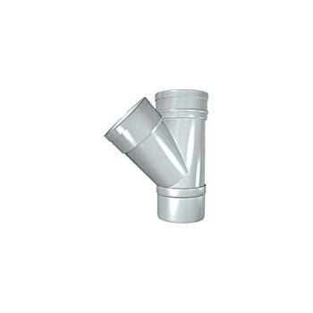 Solvent Soil 135° Double Socket Branch 110mm Grey