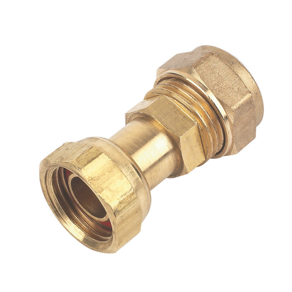 Compression Straight Tap Connector 15mm x 1/2""
