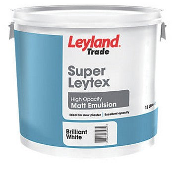 Leyland Super Leytex Brilliant White 15L