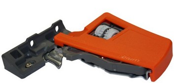 Front Fixing Bracket Pair Orange