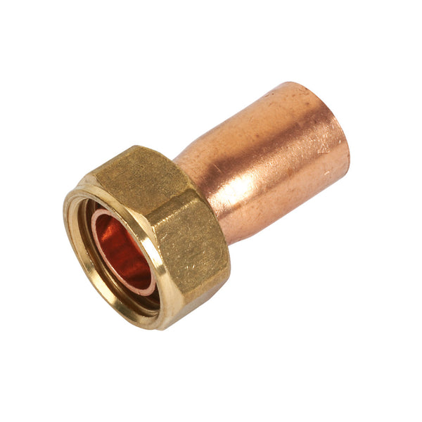 End Feed Tap Connector 15mm x 1/2""