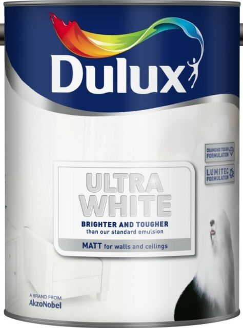 Dulux Ultra White Matt Emulsion Paint