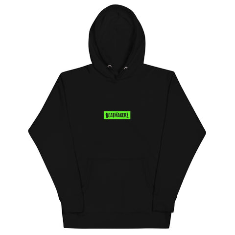 Keep Working Unisex Hoodie (Hulk Green)