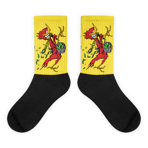 Yellow RoadRunna Socks