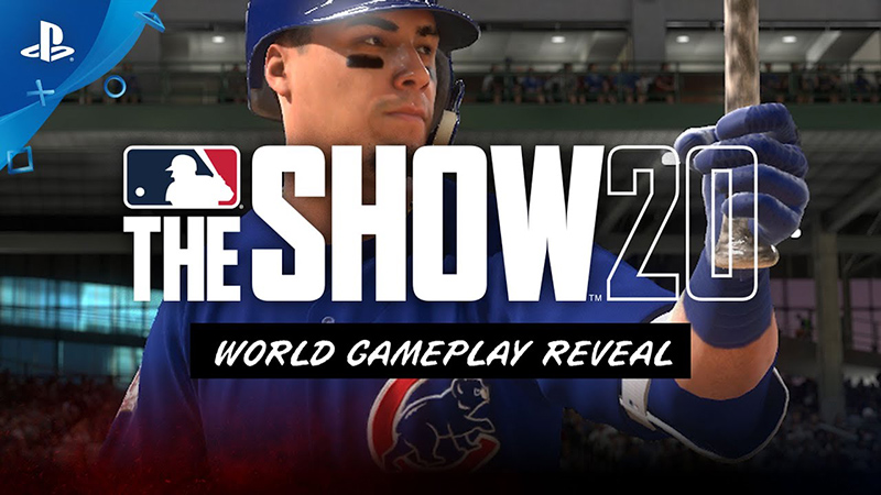 Sony Shows MLB the Show 20 Trailer