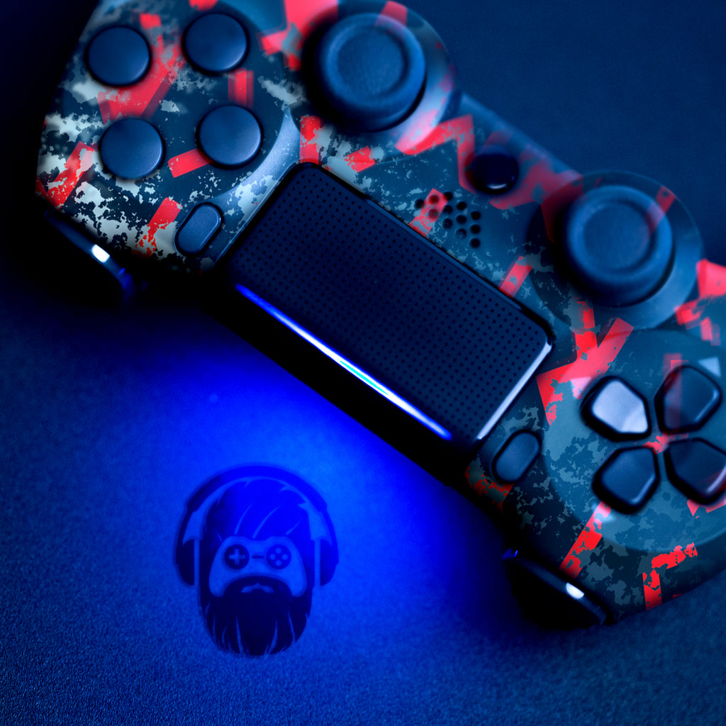 Authentic, Smooth & Easy To Use Wireless PS4 Custom Regular / Modded Controller With Exclusive Design - AC Valhalla