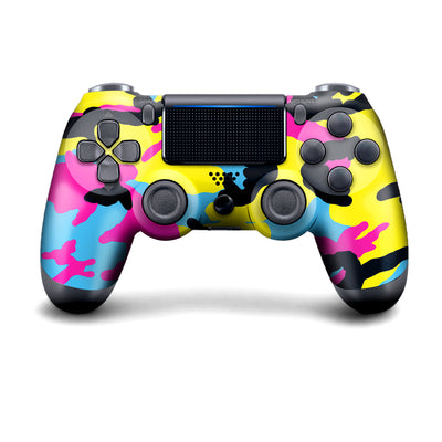 Wireless PS4 Custom Regular / Modded Controller - CMYK Camo