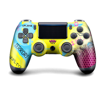 Wireless PS4 Custom Regular / Modded Controller - Cyberpunk