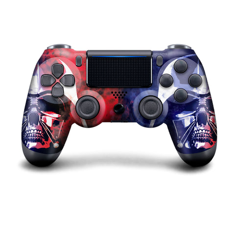 Authentic, Smooth & Easy To Use Wireless PS4 Custom Regular / Modded Controller With Exclusive Design - Darth Skeletor